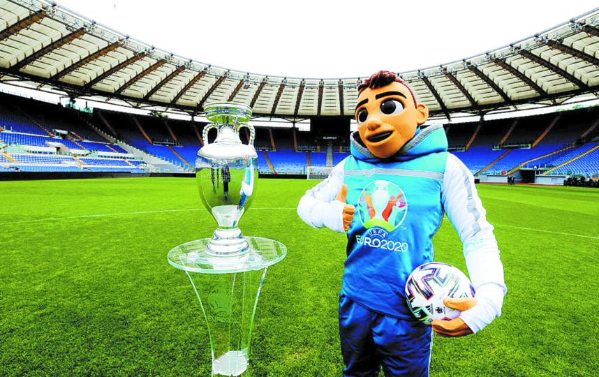 В этом году чемпионат Европы по футболу пройдёт с 11 июня по 11 июля. Фото Getty
