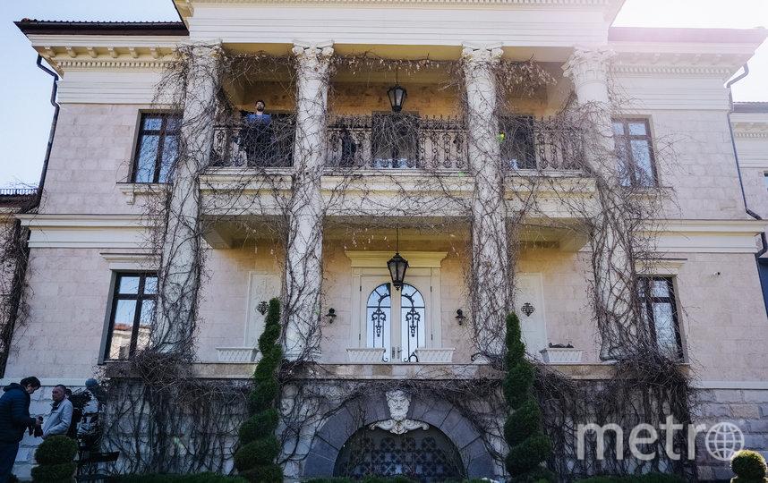 Дом, в котором в фильме разворачиваются события. Фото предоставлено пресс-службой картины
