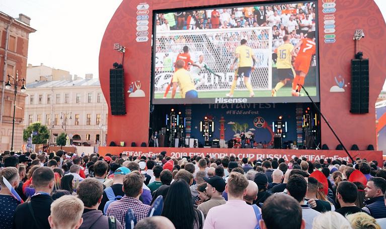 В Петербурге будет 2 фан-зоны для болельщиков ЕВРО-2020. Фото Асхат Бардынов, https://vk.com/euro2020spb, vk.com