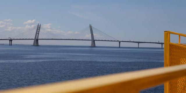 С прибрежной зоны петербуржцы смогут увидеть, как разворачиваются круизные лайнеры.