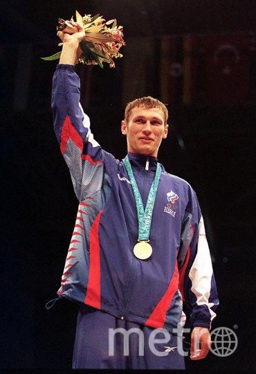 Олег Саитов. Фото пресс-служба Федерации бокса России