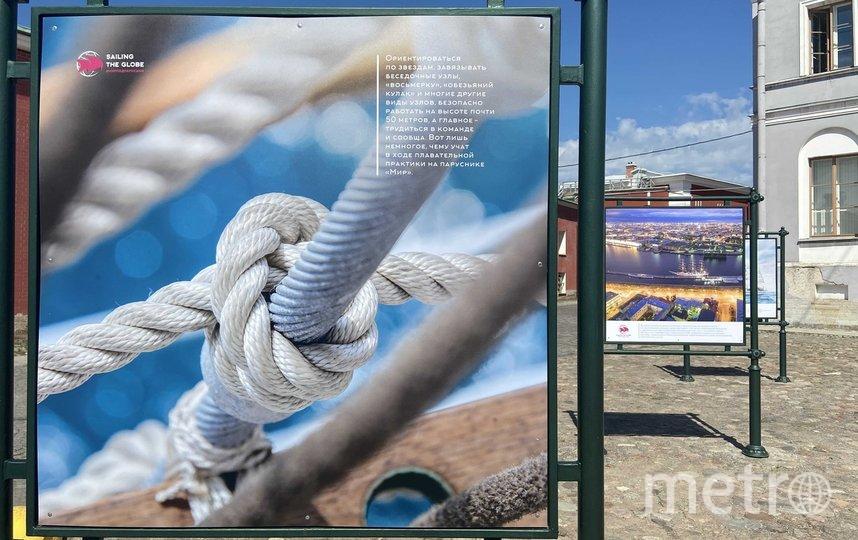 """Проект о паруснике находится на Соборной площади в Петропавловской крепости. Фото """"Metro"""""""