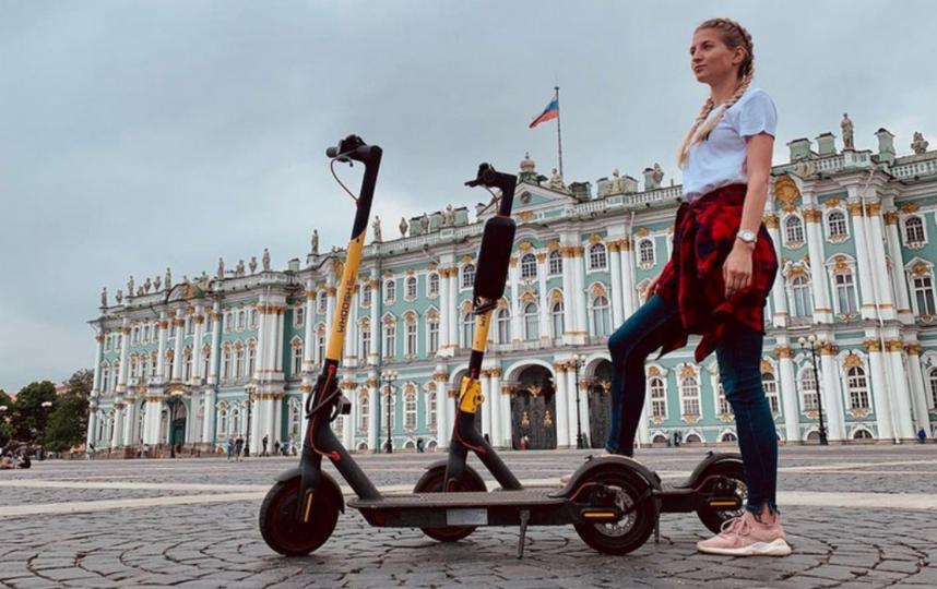 """В Петербурге существует актуальная проблема в отношении кикшеринга. Фото Скриншот Instagram @kirichenkomariy, """"Metro"""""""