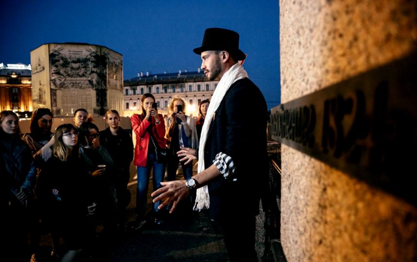 Илья Тиунов во время экскурсии. Фото Фото предоставлены Ильей Тиуновым