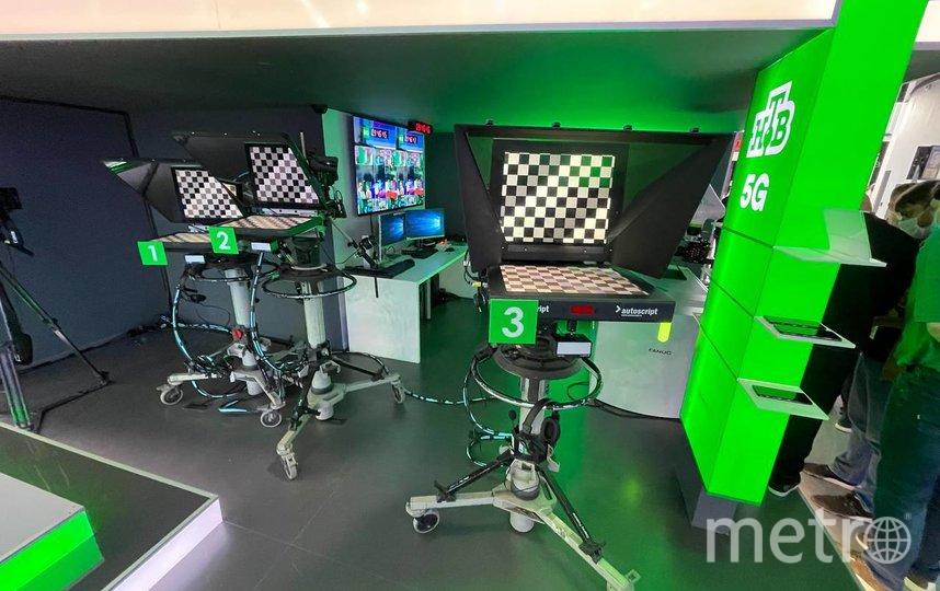 Сегодня НТВ запускает инновационную 5G студию.