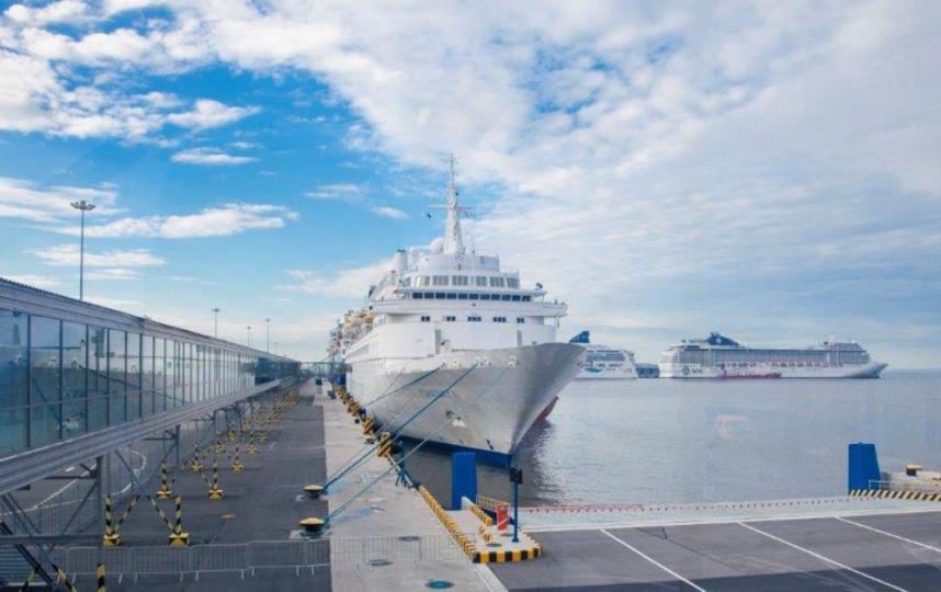 """Общественное пространство """"Гавань 2.0"""" появится у Морского вокзала. Фото vk.com/passengerportspb."""