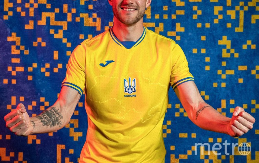 Сборная Украины выступит на Евро-2020 в новой специальной форме. Фото https://www.facebook.com/andriy.pavelko