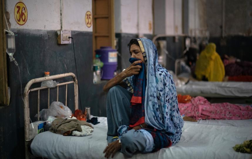 В середине мая в Индии ежедневно фиксировалось по 4 тыс. смертей в день. Фото Getty