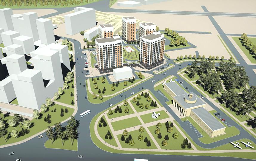 Микрорайон станет самым крупным в городе. Фото ЗАСТРОЙЩИК «СДС-ФИНАНС»