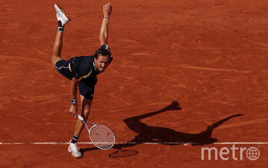 Даниил Медведев. Фото Getty