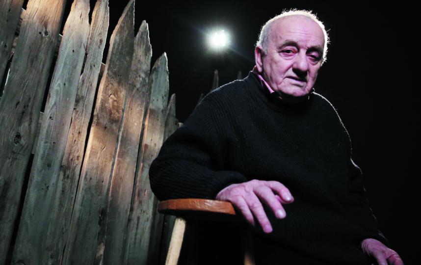 Резо Габриадзе знают как сценариста, режиссёра, драматурга, художника  и  скульптора. Фото Вячеслав Прокофьев. ТАСС.