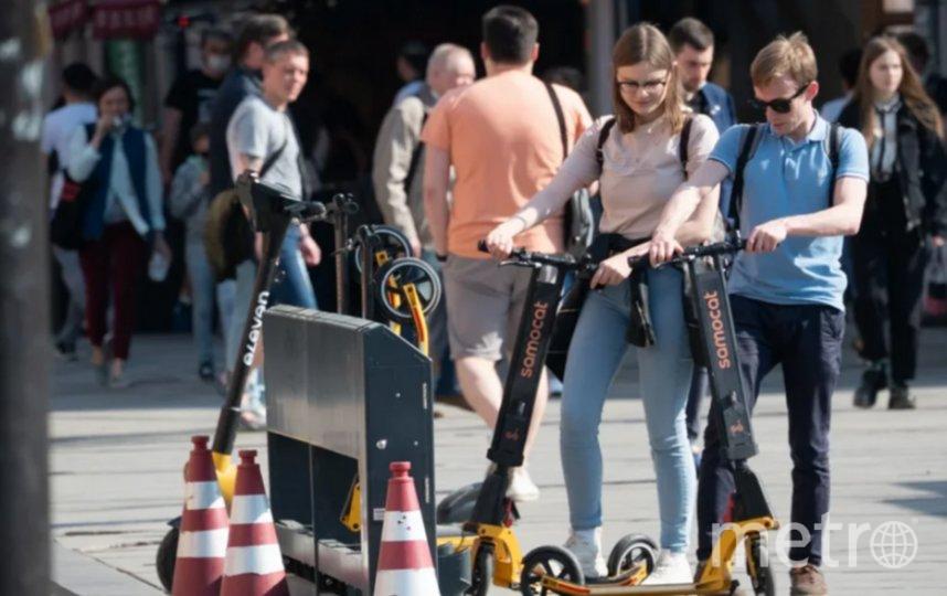 Десятки петербуржцев угодили под колеса электросамокатчиков. Фото Святослав Акимов