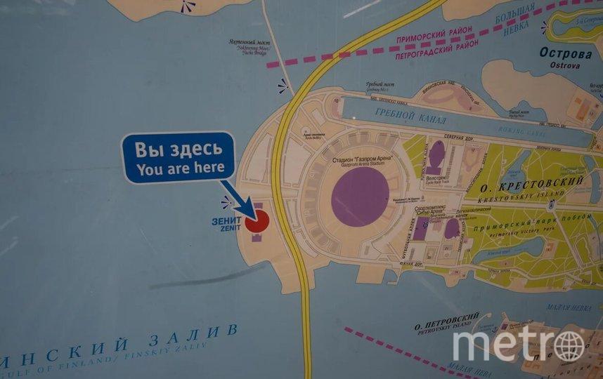 "Станция метро ""Зенит"" находится на Крестовском острове. Фото Святослав Акимов, ""Metro"""