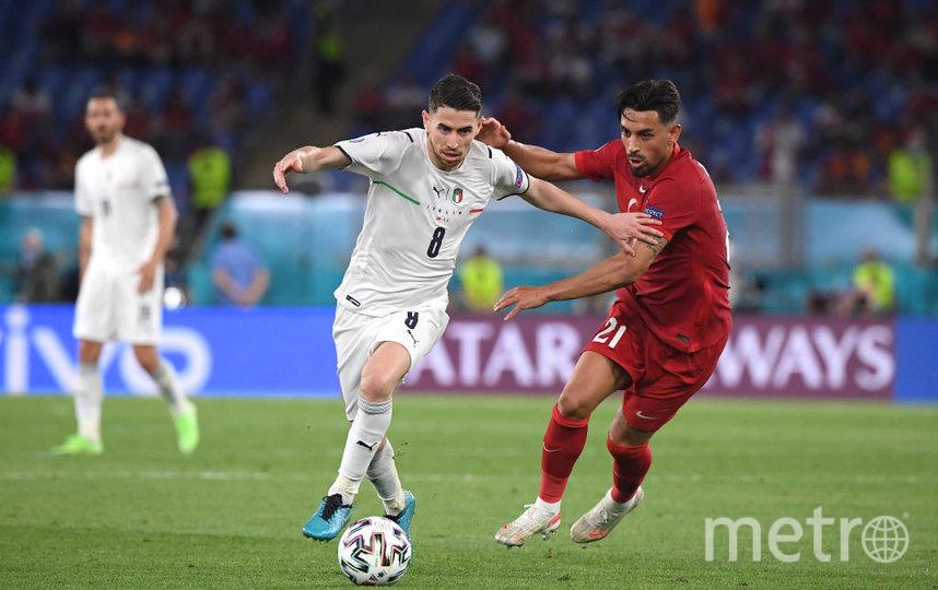 Состоялся матч сборных Италии и Турции. Фото Getty