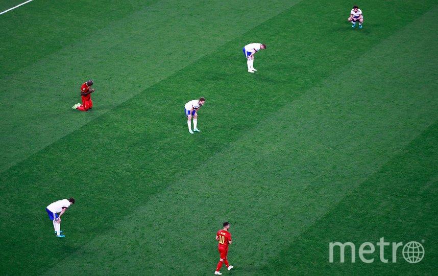 Исход игры предопределили грубые индивидуальные ошибки. Фото AFP