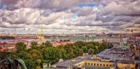 Погода в Петербурге на ближайшую неделю: когда город накроют грозы