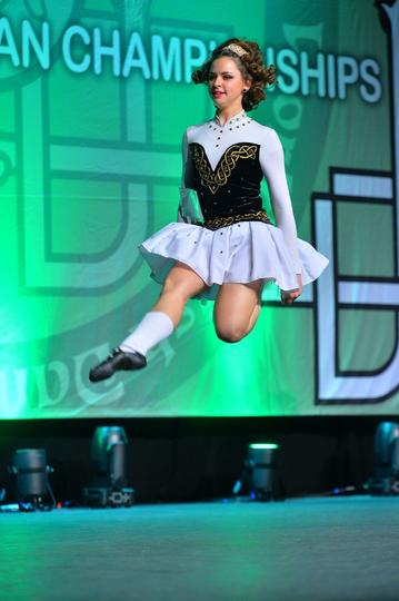 Алина Прасолова, чемпионат мира в Килларни, 2017-й. Фото feis.photos