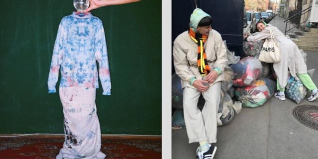"""Одежда, прошедшая модную """"перезагрузку"""" от петербургских кутюрье, пользуется популярностью у творческой молодежи."""