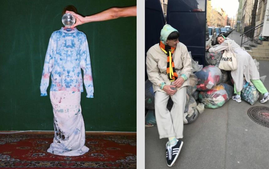 """Одежда, прошедшая модную """"перезагрузку"""" от петербургских кутюрье, пользуется популярностью у творческой молодежи. Фото Фото предоставили Галина и Семен Митрофановы"""