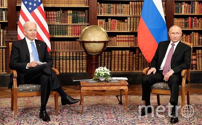 """Прямо сейчас на вилле """"Ла Гранж"""" проходит саммит российского и американского президентов. Фото kremlin.ru."""