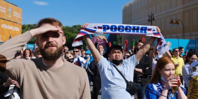 Гости Чемпионата болеют за Россию.