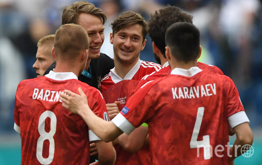 Первую победу на Евро-2020 россиянам принёс точный удар Алексея Миранчука. Фото AFP