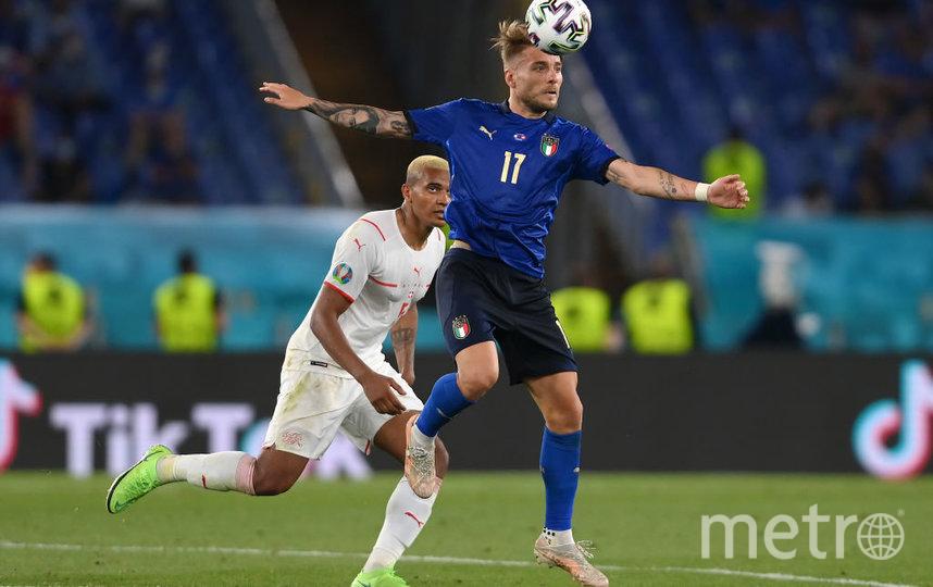 Италия обыграла Швейарию 16 июня 2021 года. Фото Getty