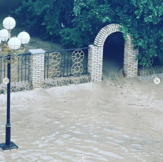 Так сейчас выглядит Керчь. Фото Скриншот Instagram: @tyutyun_kerch