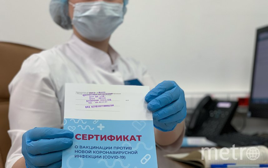 """Работа одной из мобильных бригад по вакцинации (архивное фото). Фото АГН """"Москва"""""""