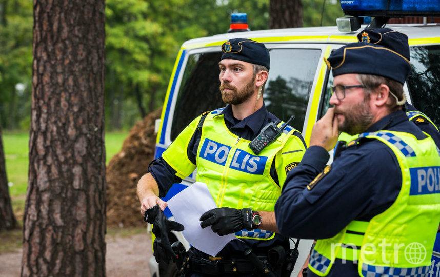 Шведская полиция. Фото Getty