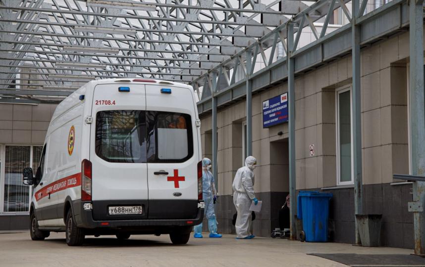 В медучреждения Петербурга чаще стали поступать пациенты с пневмонией. Фото https://www.gov.spb.ru/
