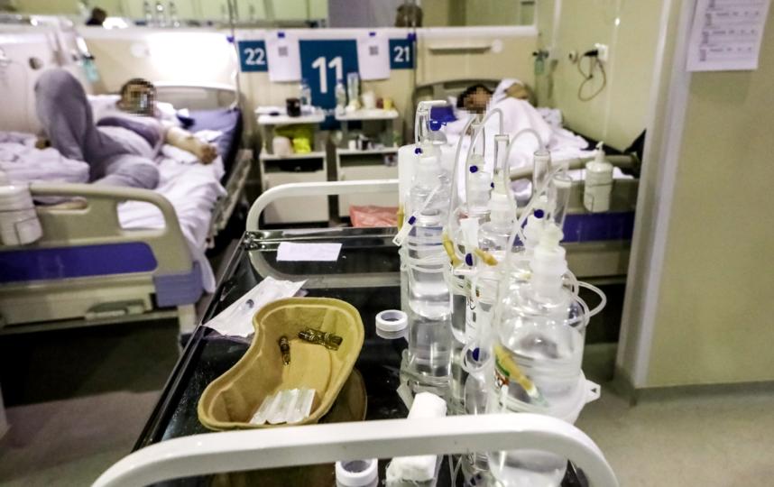 """Многих коронавирус заставил оказаться на больничной койке. Фото Агентство """"Москва"""""""