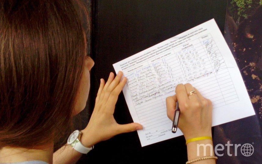 """Собирать подписи будет возможно и в электронном виде. Фото АГН """"Москва"""""""