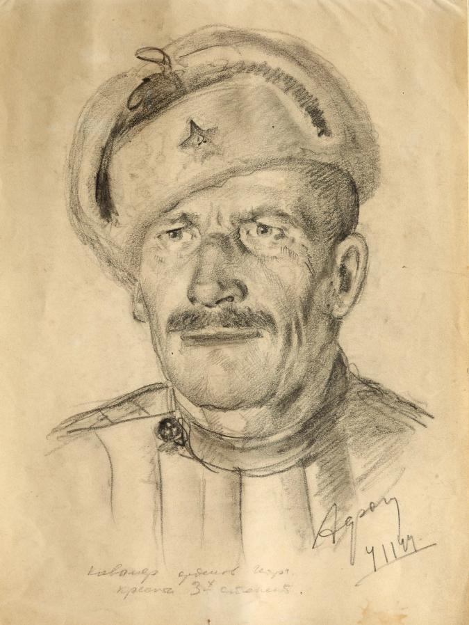 Кавалер орденов. 1944 год.