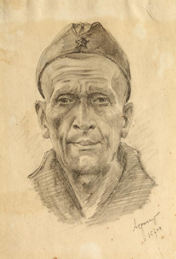 Старый солдат. 15 июля 1944 года.