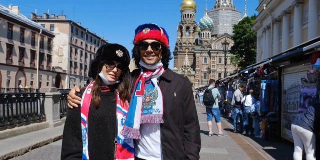 Туристы из Америки.