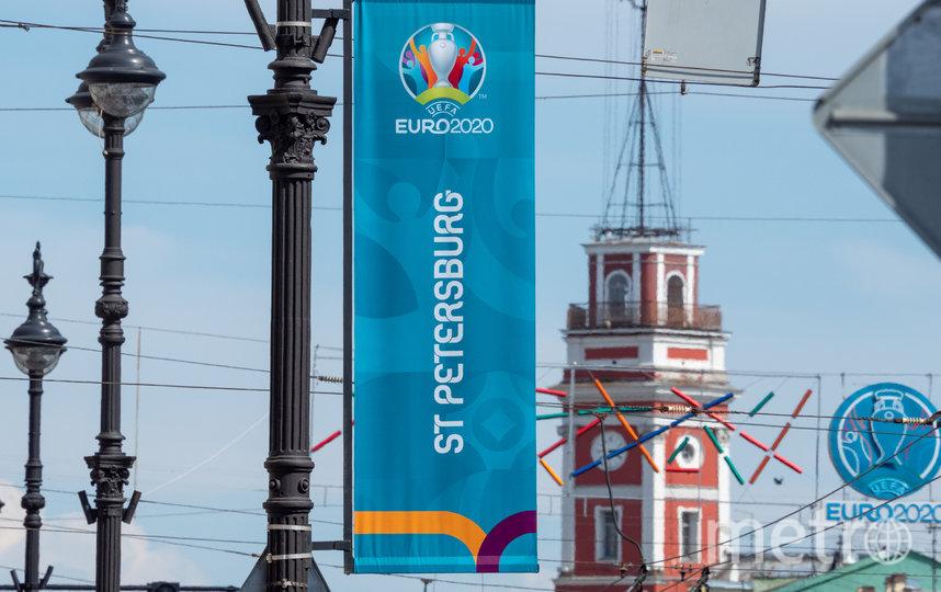 """Евро-2020 проходит в Петербурге с 11 июня по 11 июля. Фото Святослав Акимов, """"Metro"""""""