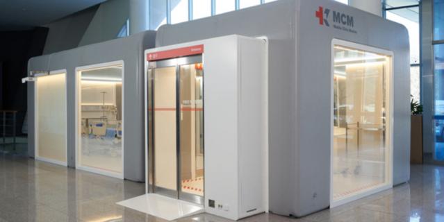 Модуль мобильной клиники KARE.