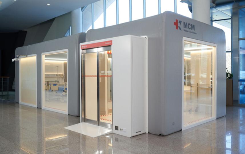 Модуль мобильной клиники KARE. Фото Предоставлено организаторами