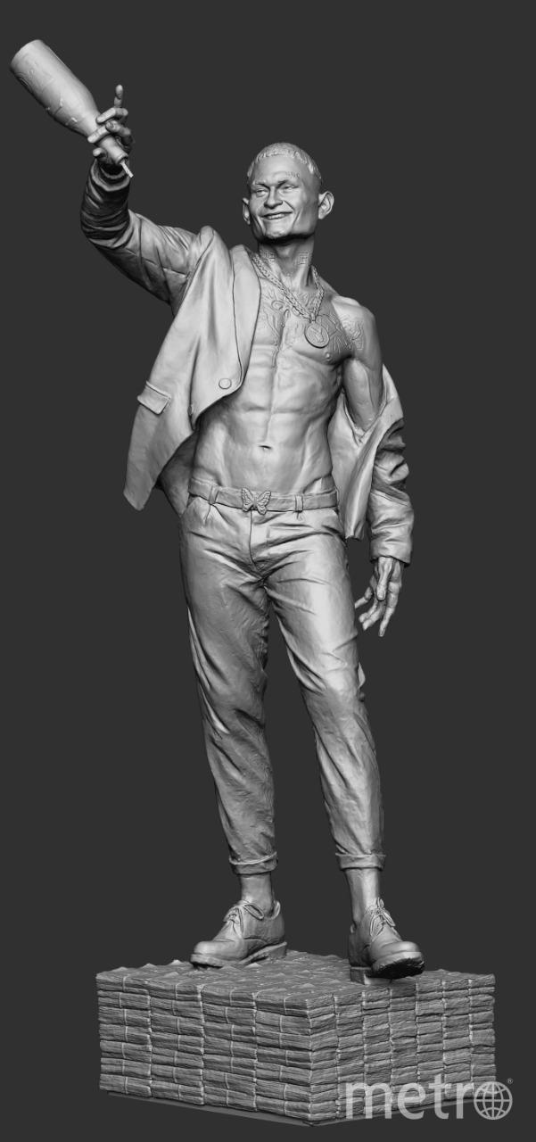 Скульптура рэпера Моргенштерна. Фото Предоставлено организаторами