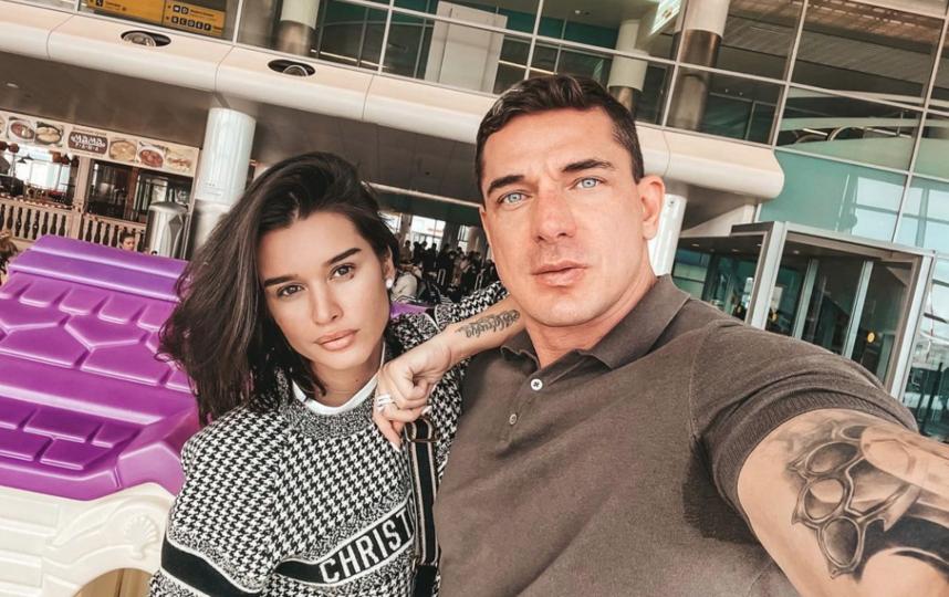 Ксения Бородина с супругом. Фото Скриншот Instagram: @borodylia