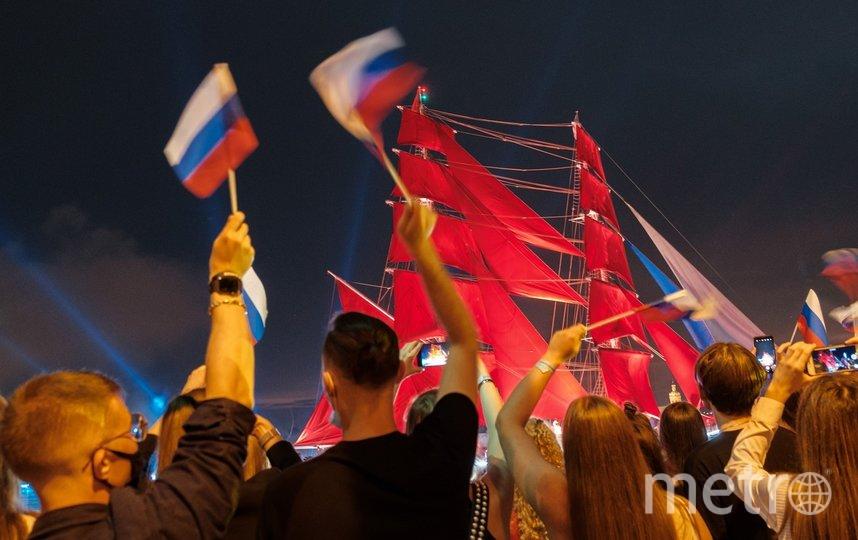 """Алые паруса, 2021. Фото Алена Бобрович, """"Metro"""""""