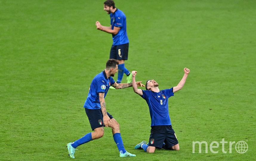 Итальянские футболисты. Фото Getty