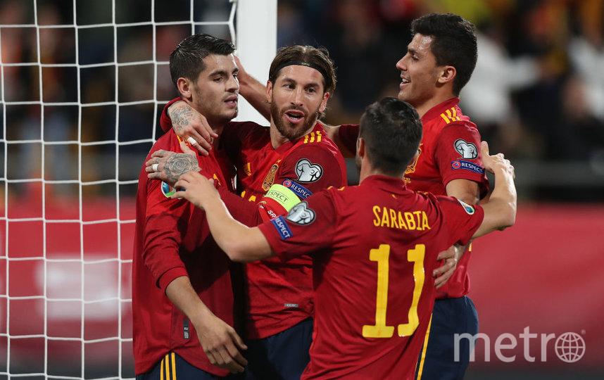 Испания одержала победу со счетом 5:3. Фото Getty