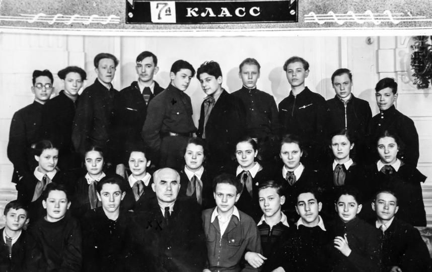 В школе №206 Сергей Довлатов (Мечик) проучился семь лет. Фото Все фото предоставлены Дмитрием Дмитриевым
