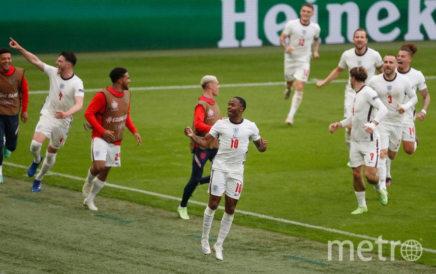 Матч между сборными Англии и Германии завершился со счетом 2:0. Фото Getty