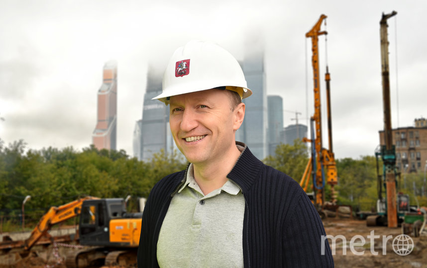 Андрей Бочкарев. Фото пресс-служба Комплекса градостроительной политики и строительства города Москвы