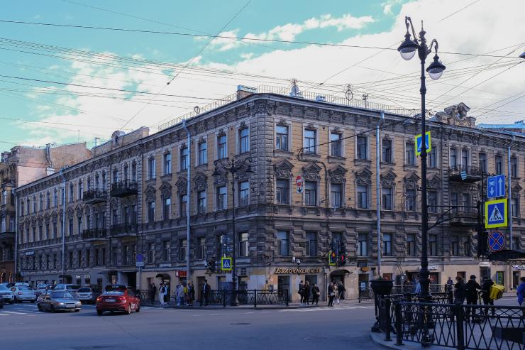 """По мнению литературоведов, в этом доме жила Настасья Филипповна. Фото Алена Бобрович, """"Metro"""""""