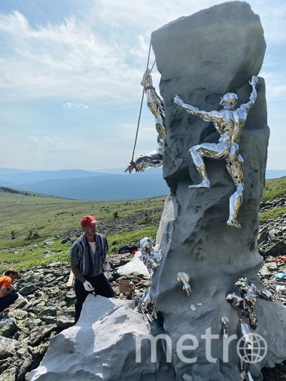На перевале Дятлова появился памятник. Фото Предоставлено организаторами
