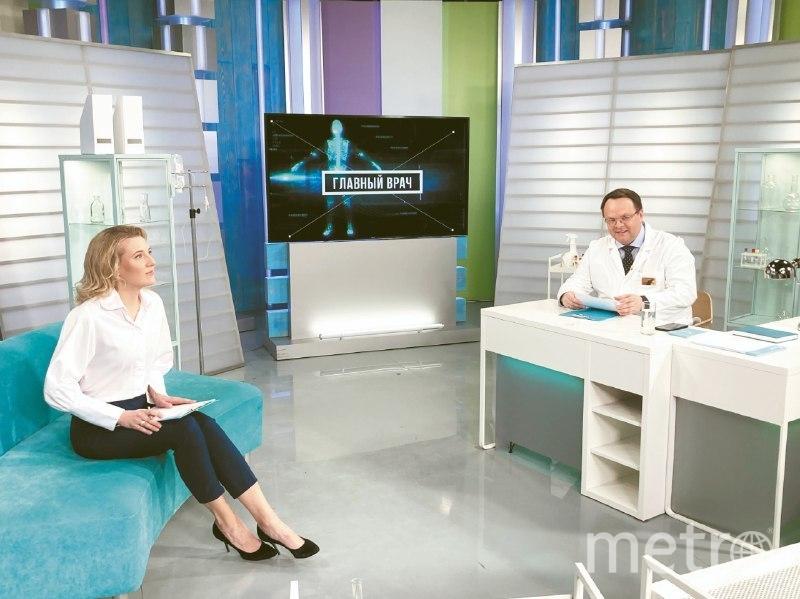"""Программа выходит в эфир на телеканале """"Санкт-Петербург""""."""